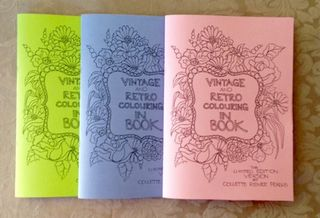 That Vintage & Retro Colouring In book for Adults is here!