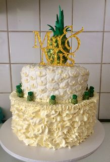 The Pineapple Wedding Cake