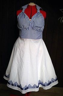 'Taking care of Business' 1950's Day Dress