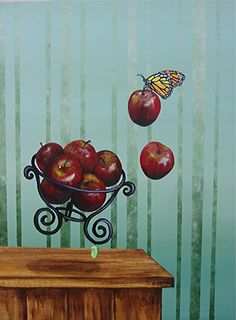 Not a Still life with Red Apples