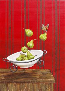 Not a Still Life with Pears