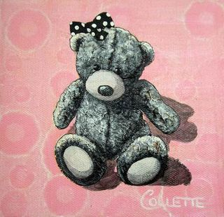 Mini Grey Ted