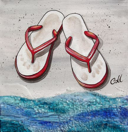 Red Jandals